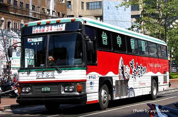 台中客運 34 919-FB