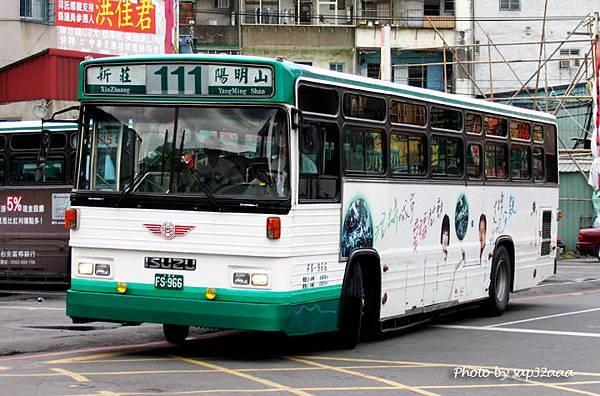 三重客運 111 FS-966