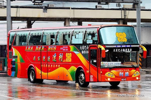 利達通運 大有巴士租用車 2060 953-CC