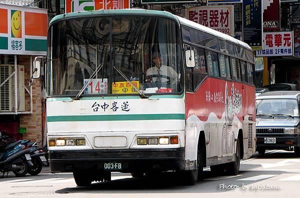 台中客運 14 003-FB