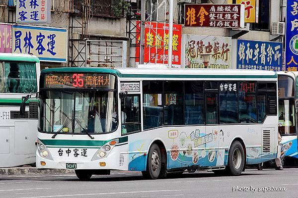 台中客運 35 743-FT