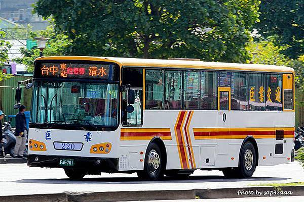 巨業交通 169 FAE-701
