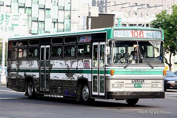 台中客運 106 081-FM