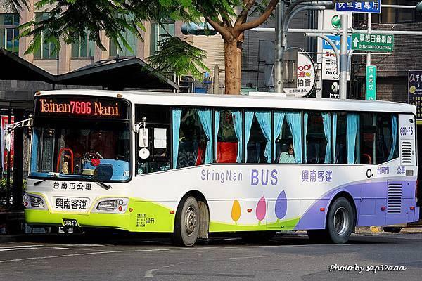 興南客運 7606 660-FS