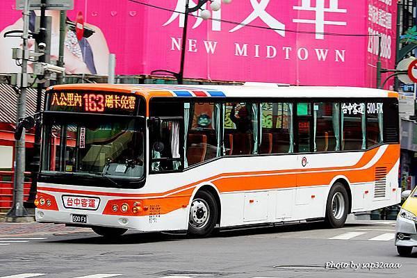台中客運 163 500-FX