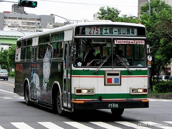 台北客運 275區間 FT-916