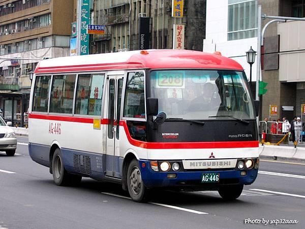 指南客運 208 AG-446