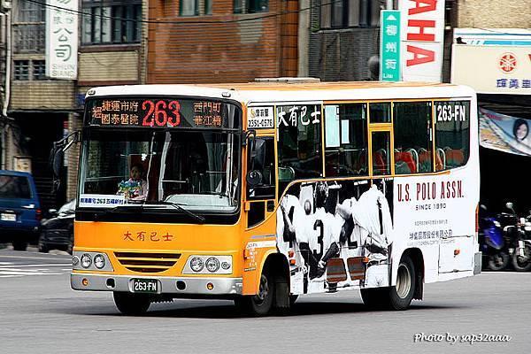 大有巴士 263 263-FN