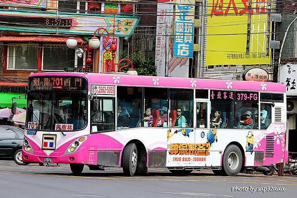 台北客運 701 379-FG