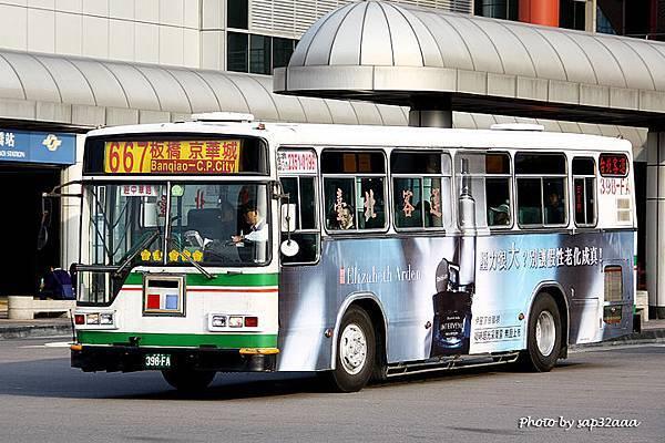 台北客運 667 398-FA