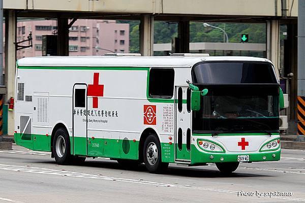 長庚醫院 X光巡迴車 269-WD