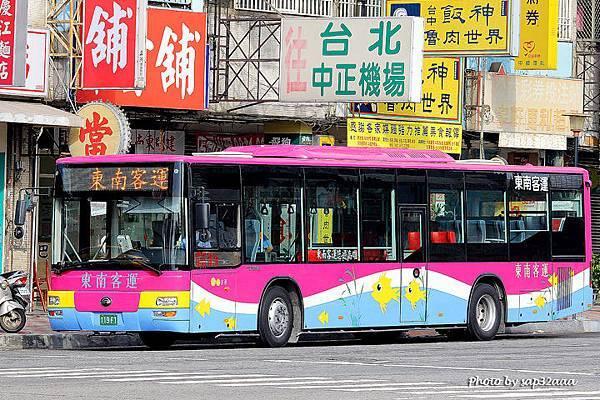 東南客運 專車 119-FT