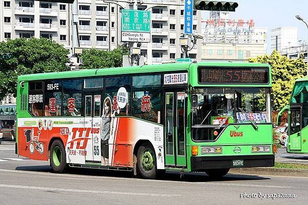 統聯客運 55 593-FE