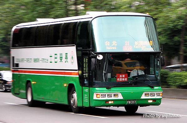 長榮巴士 台北=桃園機場 FN-317