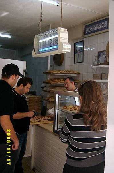沙漠裡的早餐店(入口櫃台))