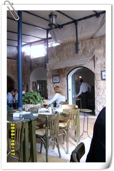 Madaba市裡一家有名的阿拉伯餐廳