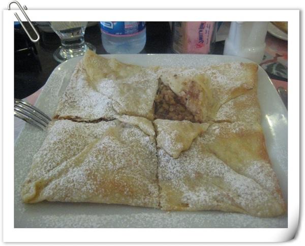 阿拉伯甜點Mutabak(內餡:碎堅果)