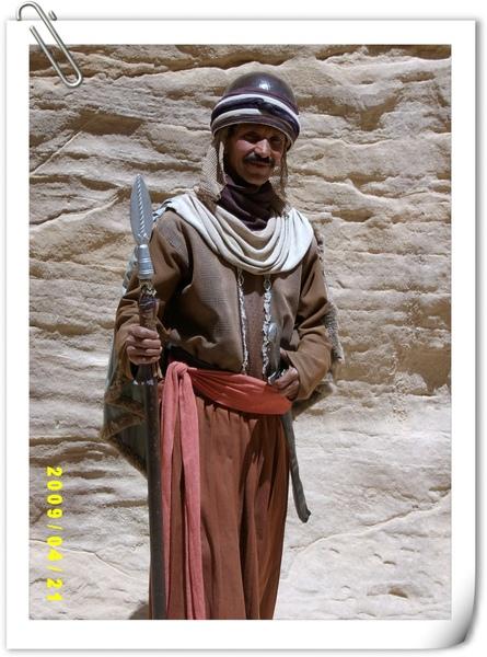 兩千年前納巴泰人的服飾
