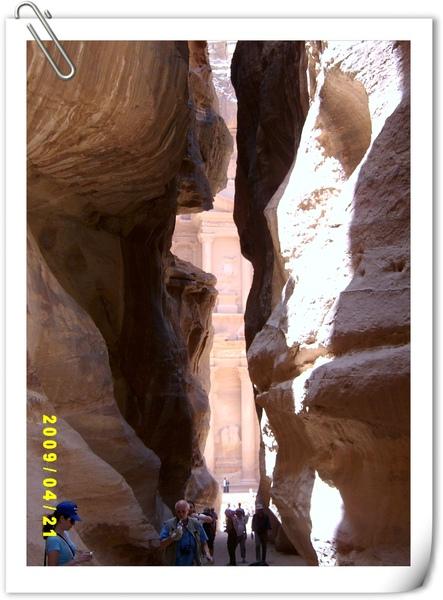 峽谷通道尾端的卡茲尼神殿