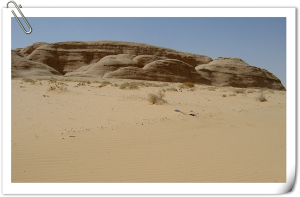 我在這裡抓了一把沙