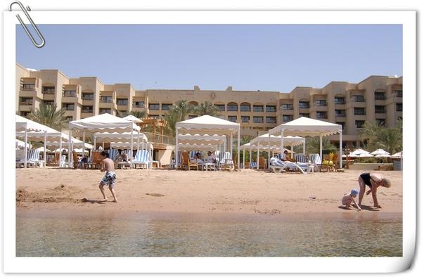 渡假飯店的海灘