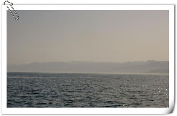 遠眺埃及的西奈半島