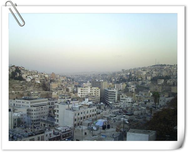 約旦首都安曼市一景