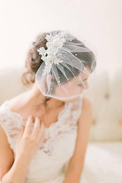wedding-veil-ideas-for-2016-crystal-lace-birdcage-veil
