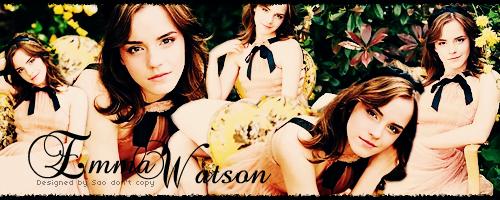 Emma Watson 簽檔