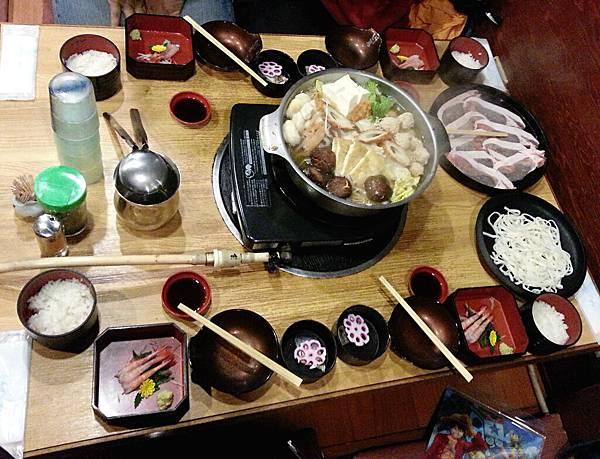 12/10晚餐 相撲火鍋