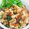 《剩飯系列》剩飯簡單變油飯 http://icook.tw/recipes/57714