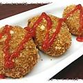 《免炸》咖哩可樂餅 http://icook.tw/recipes/61314