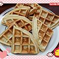 香蕉格子鬆餅(免預拌粉) http://icook.tw/recipes/77095