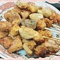 孜然香~綜合炸雞串 http://icook.tw/recipes/58075