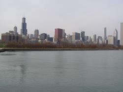 ChicagoSkyline- Lake View(2008冬)