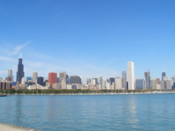 ChicagoSkyline- Lake View(2006秋)