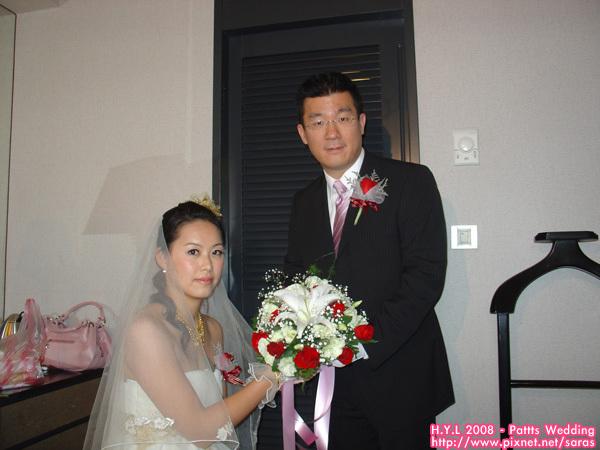 娶到新娘囉~