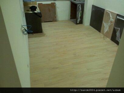 9/30~內湖~施工木地板!