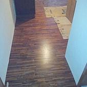 木地板施工~10/6~復興北路~!
