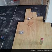 中和~環河西路木地板施工
