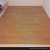 新竹~金竹路施工木地板!