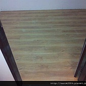 風格木地板~12/21~三重文化南路施工木地板~超耐磨系列木地板!
