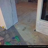 1/05~基隆暖暖區~木地板架高作品!!