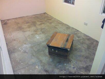 風格木地板~萬華區架高作品(使用超耐磨北歐冰柏)!