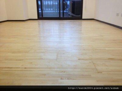 風格木地板~新竹隘口三街(使用海島型楓木指接300條E1樺木地板)