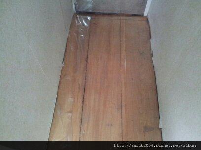 3/26~套房木地板架高作品~2次施工!