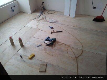 風格地板~南雅南路(遠揚加州)~主臥木地板作品!!
