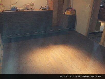 5/26-光復南路燒肉店VIP包廂木地板施工(品名:極勳)