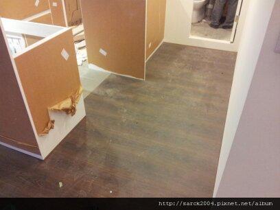 6/18-19~北市中山北路住家作品(使用:碳化橡木)超耐磨木地板!