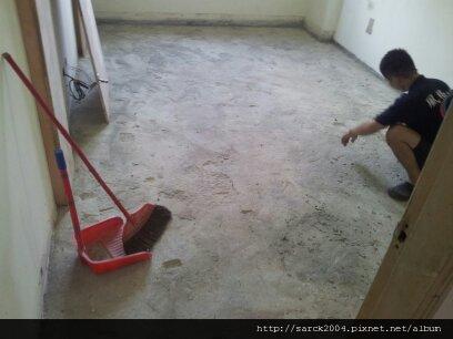 6/26-板橋國光路住家作品-木地板2次施工先打底!